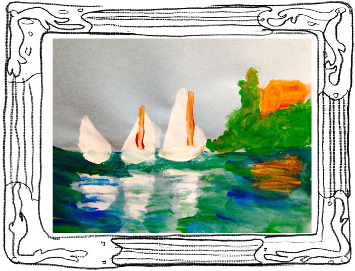 monet student artwork