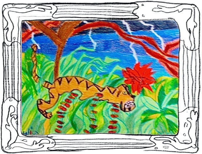 rousseau student artwork